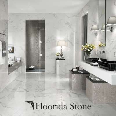 Ice White Marble Marble Interior Application